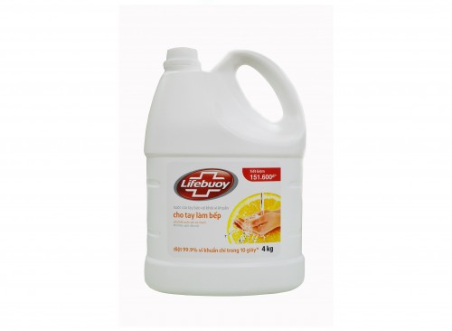 Lifebuoy Hand Soap Total 4 Kg ( for 3 pcs.)