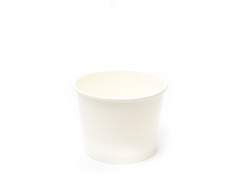 Paper Bowl Plain 320 cc - for 1,000 pcs/case