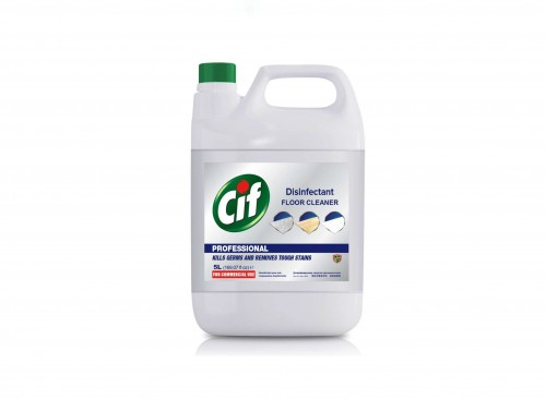 FLOOR CARE - CIF Floor Cleaner Disinfectant 5L (for 2 pcs)