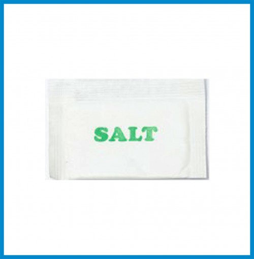 Salt Packets 1g - for 100 pcs.