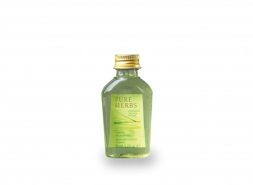 Pure Herbs - Shampoo 35 ml in Flacon Continental