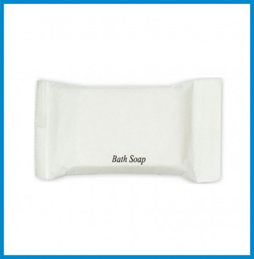 Bath Soap in Paper Pouch Wrapper 13 g