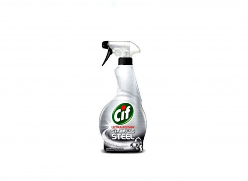 SURFACE CARE - CIF Spray Stainless Steel UK 450 ML (for 6 pcs)