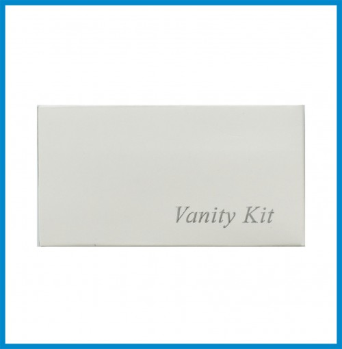 Vanity Kit in Box - 1 Cotton buds (3's) 2 Cotton balls and 1 Emery Board
