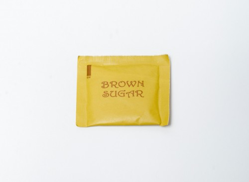 Brown Sugar Sachet 5 g for 100 pcs