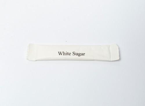 White Sugar Stick Type 5g for 100 pcs
