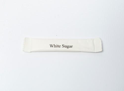 White Sugar Stick Type 7g for 100 pcs