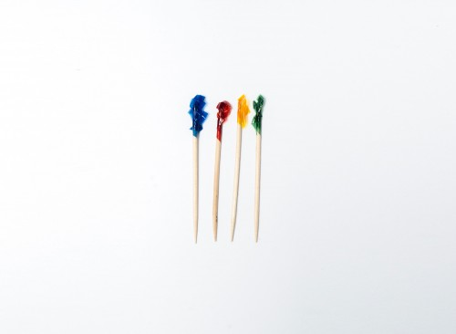 Toothpick (Cocktail)  Frillpicks - 1,000's x 40 pack (40,000 pcs/case)