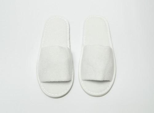 Slippers - Terry Cloth International Size (Open)
