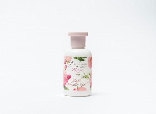 Flower Heritages : Rose - Bath & Shower Gel 30 ml