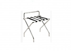 Luggage Rack - Size : L600*W460*H680  Material :Stainless  Color :Silver color