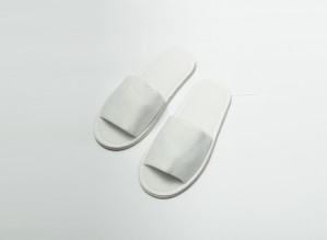 Slippers - Terry Cloth (CB) International Size (Open)