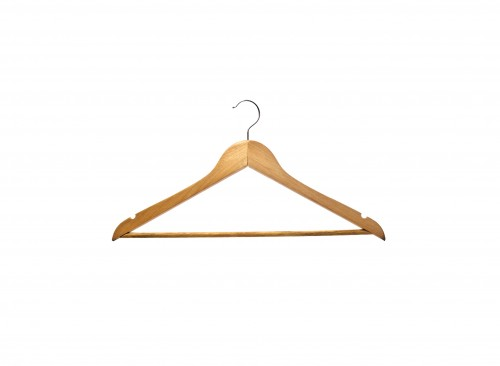 Wardrobe Accessories - Wooden Hanger Plain