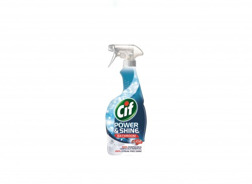 BATHROOM CARE - CIF Power & Shine Bathroom Cleaner 700 ML (for 6 pcs)