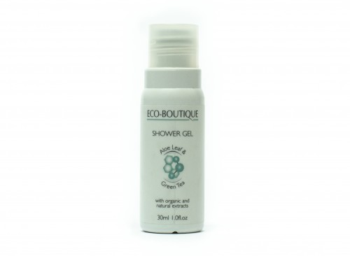 Eco Boutique Aloe Leaf & Green Tea - 30 ml Shower Gel