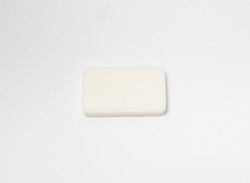 Bath Soap in Opaque White Plastic 13 g