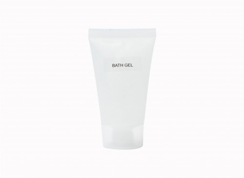 Bath Gel in Squeezable Tube 25 ml (Screw Type Cap)