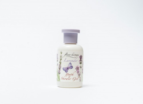 Flower Heritages : Lavender - Bath & Shower Gel  30 ml